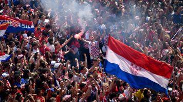 VIDEO   Croacia recibió a su selección por todo lo alto
