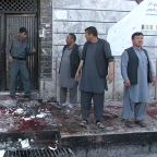 Blast at election center in Afghan capital kills dozens