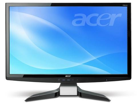 Acer introduces 24-inch P244W 1080p LCD monitor