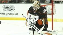 Ducks' Bernier to make first career playoff start with Gibson out for Game 6