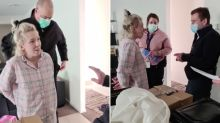 Pregnant mum livestreams arrest 'after planning lockdown protest' on Facebook
