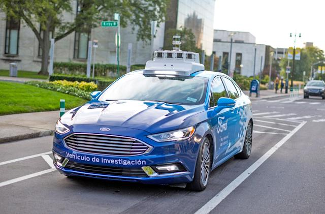 Ford patent would turn autonomous car control into a mobile game