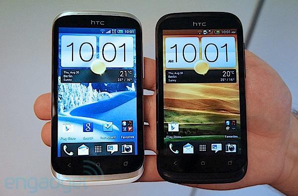 HTC Desire X hands-on (video)