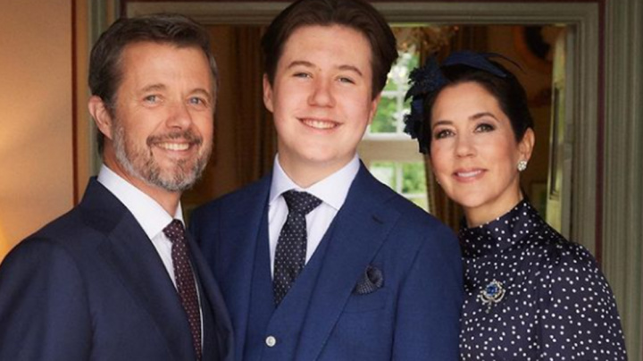 Princess Mary's eldest son Christian all grown up in new photos