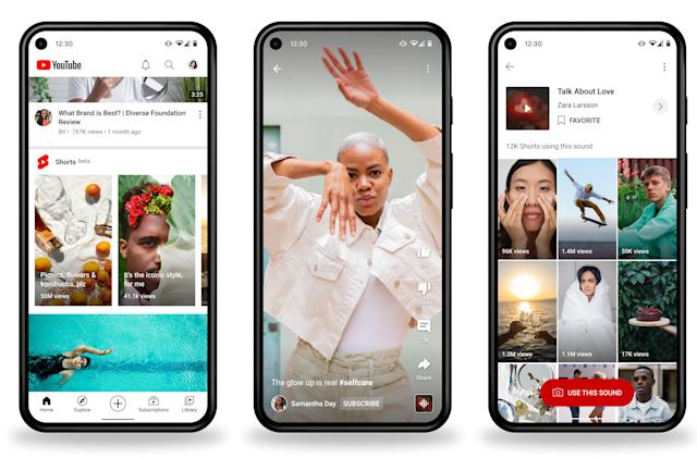 YouTube's TikTok competitor Shorts expands to the US