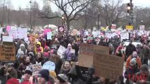 Thousands Gather for Women's March Rallies Across the U.S.