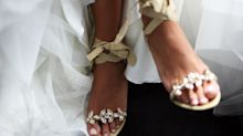11 Stunning Pairs Of Wedding Shoes That Aren't Heels