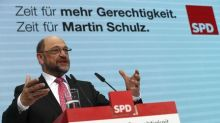Germany's SPD moves ahead of Merkel's party in poll