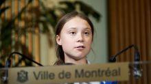 Partidarios del sector petrolero destruyen un mural de Greta Thunberg en Canadá