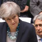 Theresa May says she wants 'smooth exit from Brexit' as she appears to muddle her words while speaking in Commons