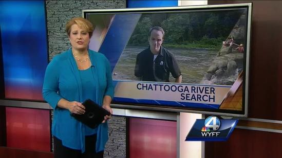 Search continues for missing rafter in the Chattooga River