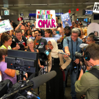 'Welcome home Ilhan': Huge crowd greets Rep. Omar at Minnesota airport