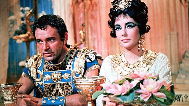Image result for cleopatra elizabeth taylor and richard burton