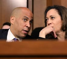 Kamala Harris and Corey Booker give emotional speeches after a Rand Paul amendment holds up anti-lynching bill