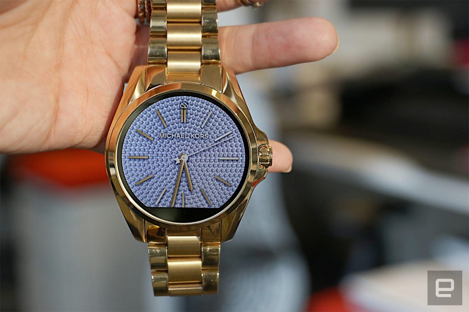 Michael Kors Access smartwatches' value is face deep