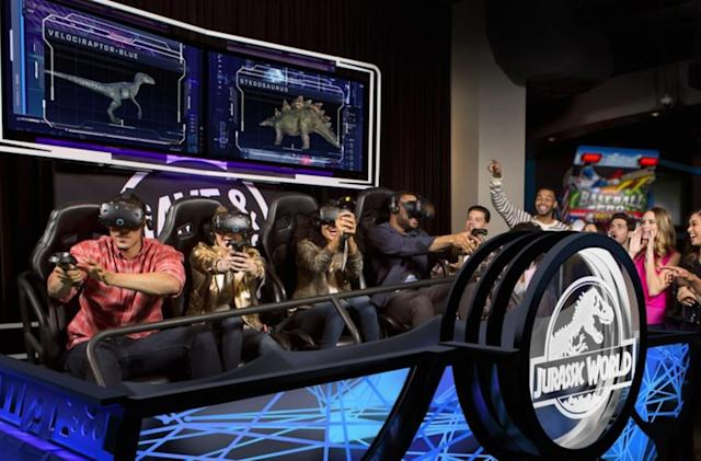 HTC brings multiplayer VR games to Dave & Busters this month
