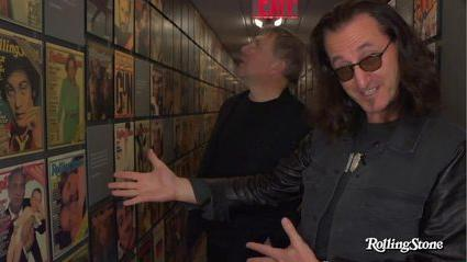 Rush Take a Tour of Rolling Stones Headquarters