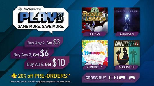 PlayStation Store Play event offers pre-order discounts, bonus PSN credit