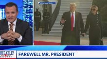 President Biden's inauguration according to Newsmax, home to TV's most ardent Trump defenders