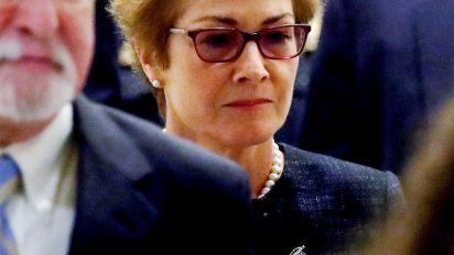 Who is former ambassador Marie Yovanovitch?