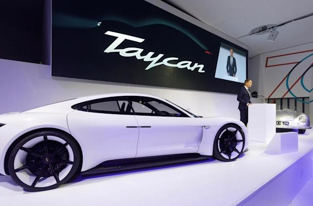 Porsche's Taycan EV has pulled in more than 20,000 deposits