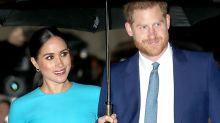 'Oh dear': Harry and Meghan's awkward foundation blunder