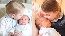Comparing Prince Louis' Photos to Charlotte's