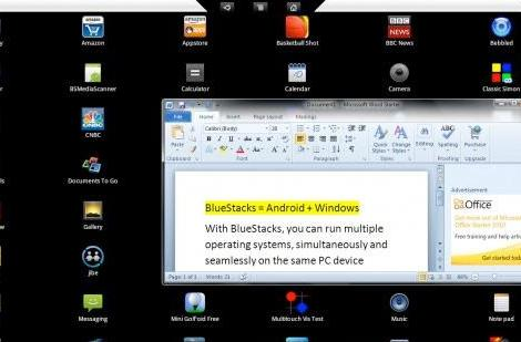 BlueStacks offering Android virtualization within Windows, harmony for one and all