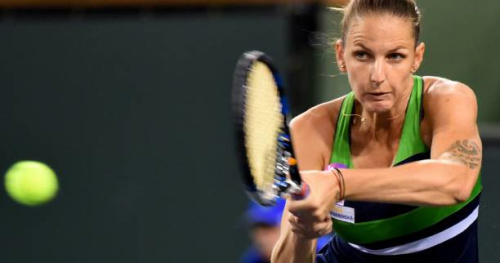 Tennis - WTA - Indian Wells - Karolina Pliskova rejoint Svetlana Kuznetsova en demies à Indian Wells