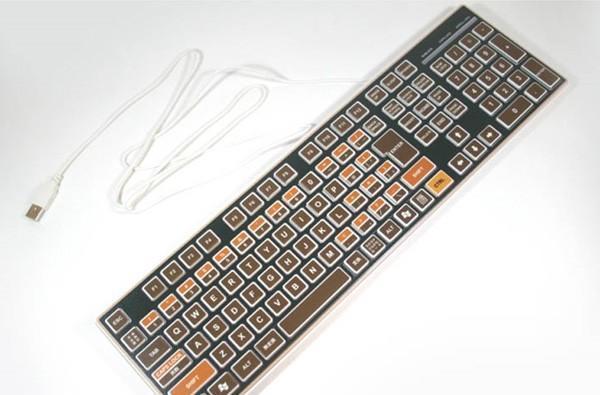 Niyari brings back Atari 400 nostalgia with USB keyboard, brown never looked so good