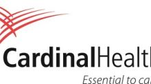 Cardinal Health Reports First Quarter Results for Fiscal Year 2019