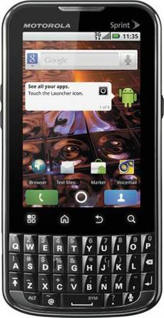 Motorola XPRT available now on Sprint for $129.99 on contract