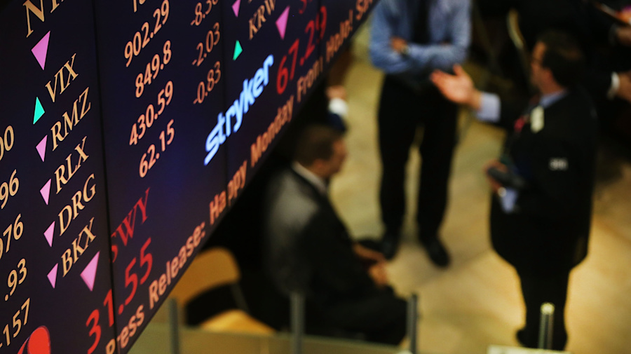 Global stocks higher, dollar faces rate hike uncertainty