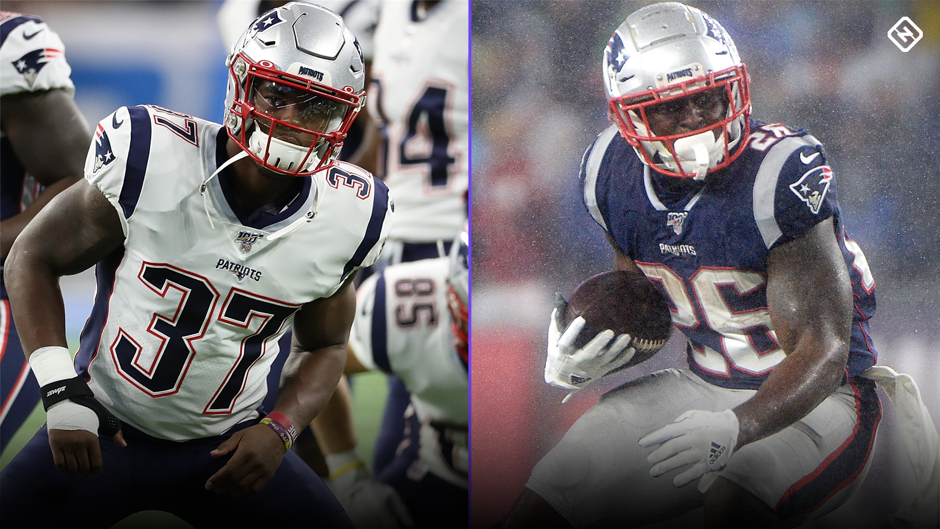 Damien Harris Fantasy Outlook Can Harris Emerge Over Sony Michel In A Crowded Patriots Backfield