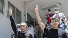 Thai leader says tensions over protests endanger nation