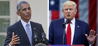 Trump makes false claim about Obama, Russia