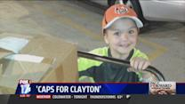 Kid Cancer Survivor Collects Hats for Patients
