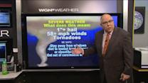 Flooding rains, possibility for tornadoes: Severe weather