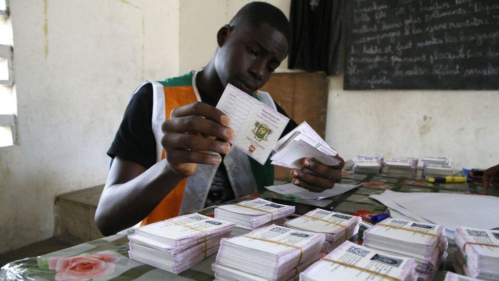 Ivory Coast elections: Voters go to the polls amid opposition boycott