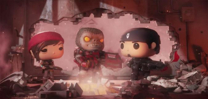 'Gears of War' heads to mobile with a Funko Pop art style