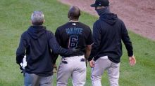LEADING OFF: Marlins' Marte hopes to play with broken hand
