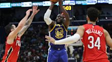 The list of players out for Warriors-Pelicans is endless