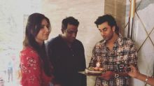 Ranbir Kapoor and Katrina Kaif celebrate Anurag Basu's birthday together