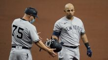 Clean-shaven Odor makes debut for Yankees against Rays