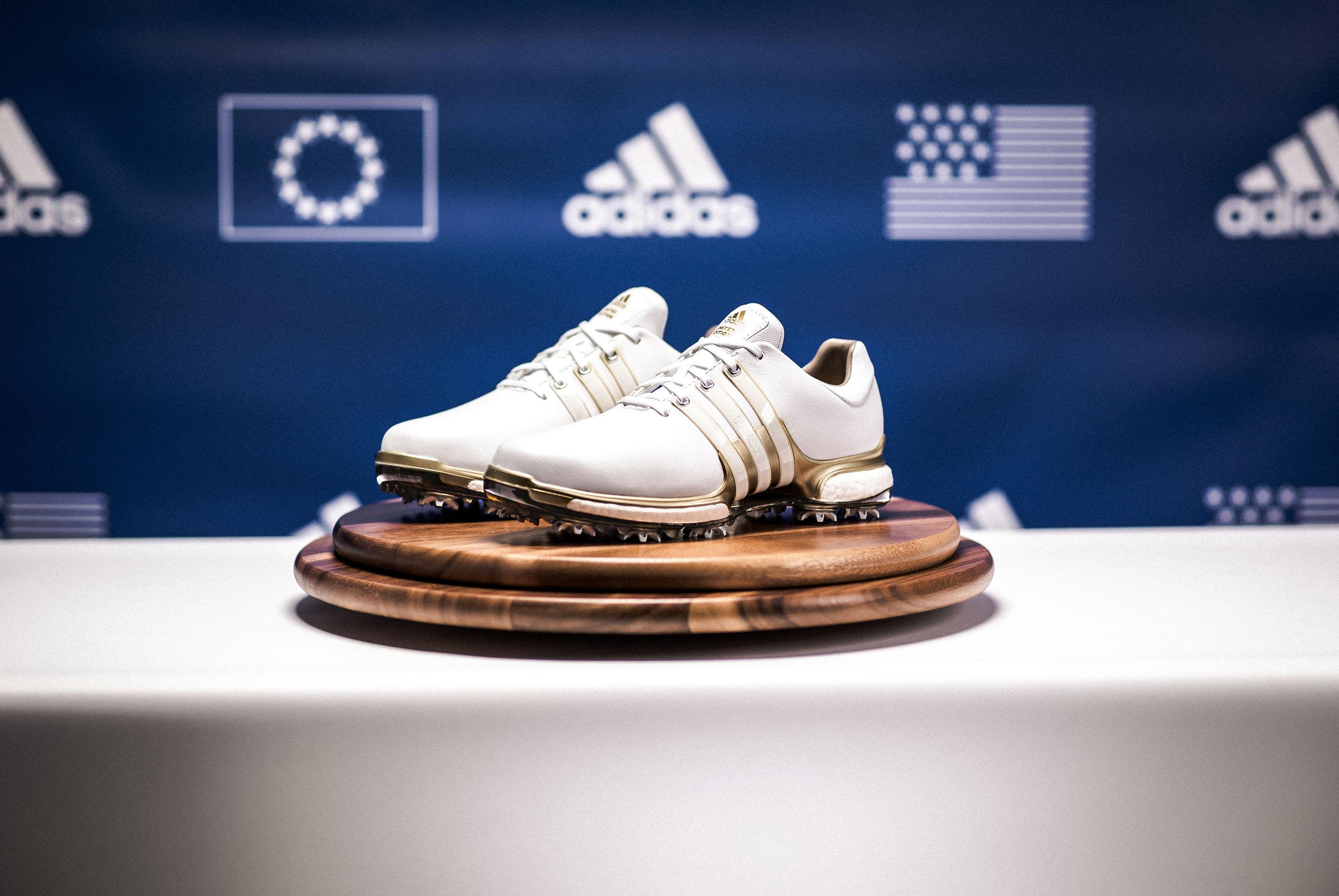 limited-edition TOUR360 golf shoe ahead