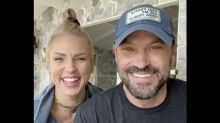 Brian Austin Green says face masks helped him bond with Sharna Burgess: 'It really helped us connect'