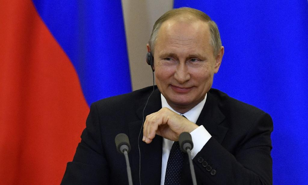 """""""I am offended, you know,"""" Putin joked"""