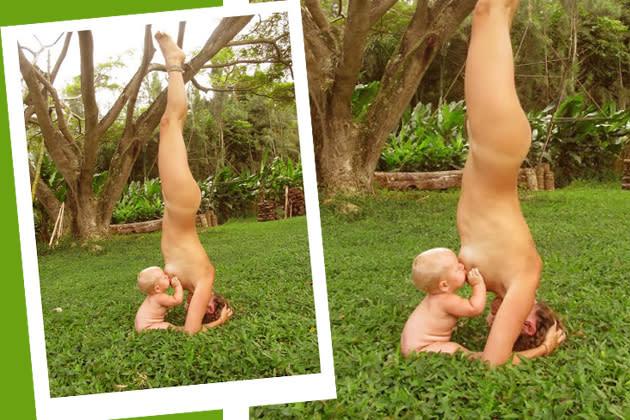 Nackt yoga bilder