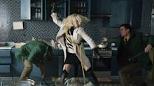 Charlize Theron on 'Atomic Blonde' Fights in Knee-High Boots, Miniskirt, and Garter Belt