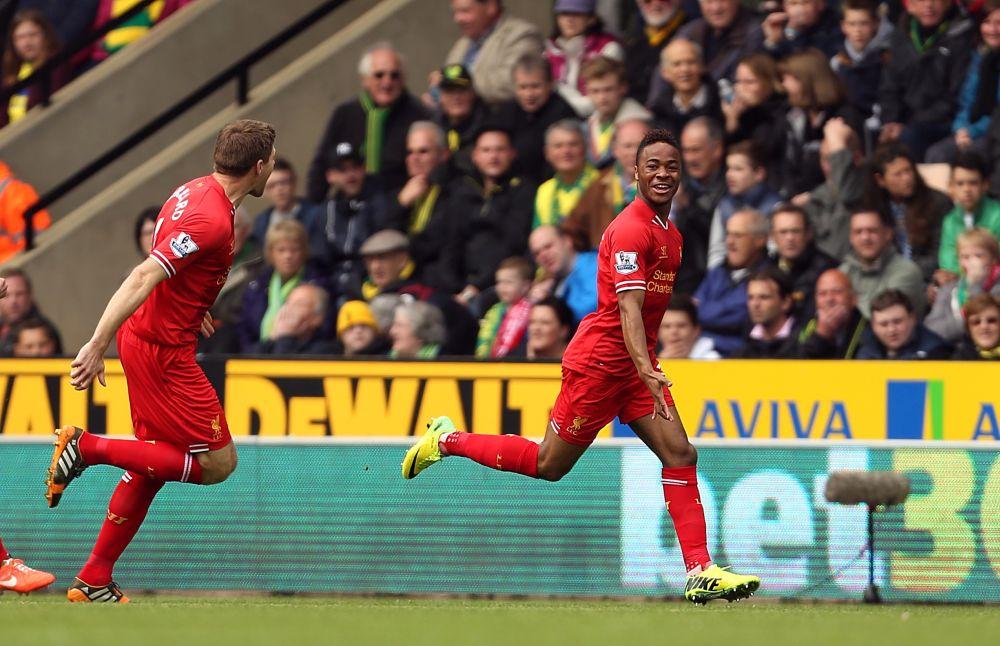 Liverpool, Sterling top this week's AP soccer poll
